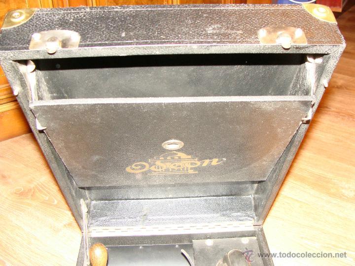 Gramófonos y gramolas: Gramofono Gramola Odeon años 30-40 - Foto 10 - 47562718