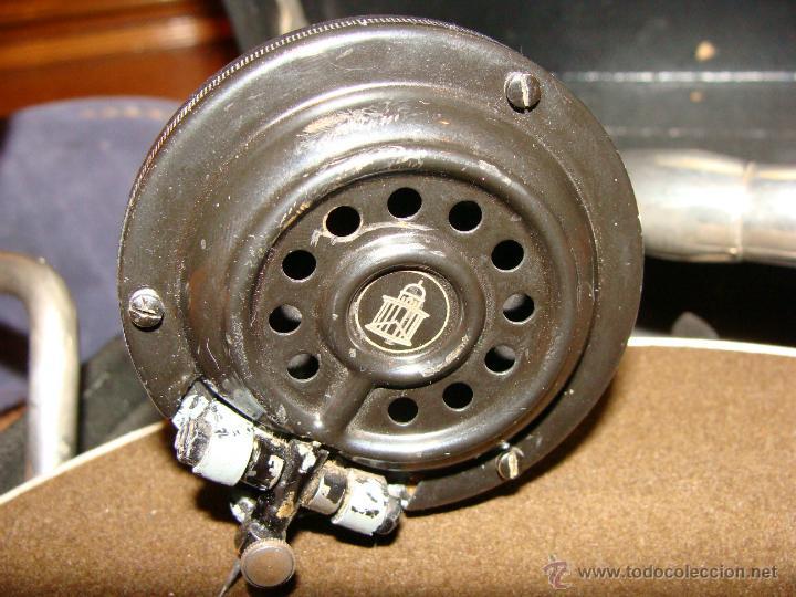 Gramófonos y gramolas: Gramofono Gramola Odeon años 30-40 - Foto 11 - 47562718