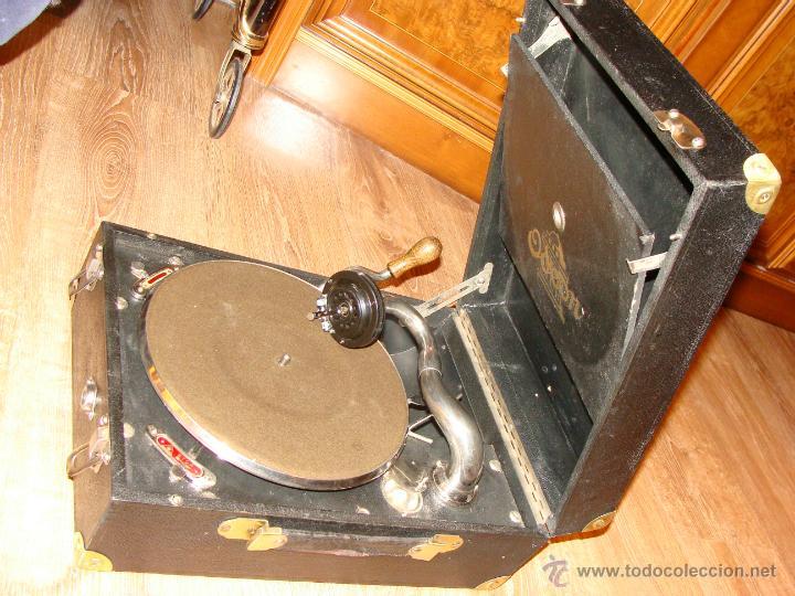 Gramófonos y gramolas: Gramofono Gramola Odeon años 30-40 - Foto 12 - 47562718