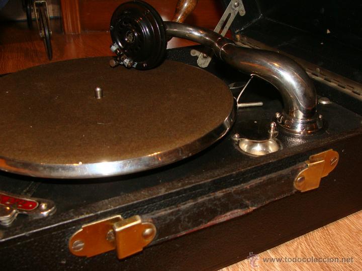Gramófonos y gramolas: Gramofono Gramola Odeon años 30-40 - Foto 13 - 47562718
