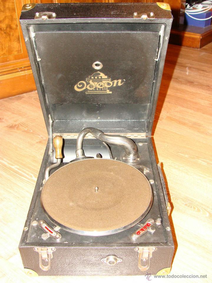 Gramófonos y gramolas: Gramofono Gramola Odeon años 30-40 - Foto 16 - 47562718