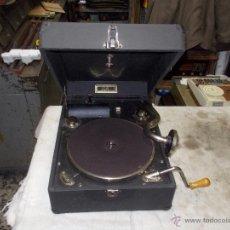 Gramófonos y gramolas: GRAMOLA PATHE FUNCIONANDO. Lote 48383739