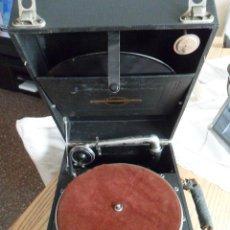 Gramófonos y gramolas: GRAMOFONO GRAFONOLA. AÑOS 20. MADE IN ENGLAND.. Lote 49776583