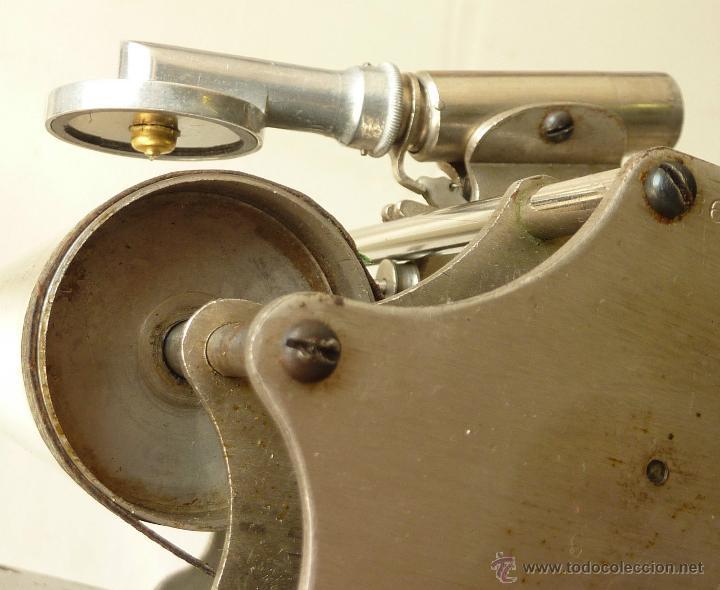Gramófonos y gramolas: FONÓGRAFO MUSEO ORIGINAL GRAMÓFONO COLUMBIA1887 TIPO CAJA MADERA VER VIDEO venta directa 998 euros - Foto 2 - 49889844