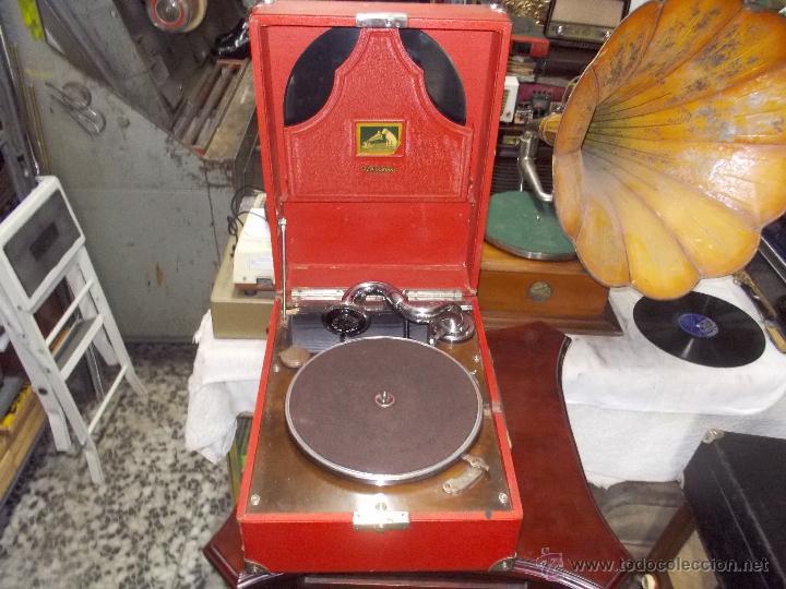 GRAMOLA RCA VICTROLA FUNCIONANDO (Radios, Gramófonos, Grabadoras y Otros - Gramófonos y Gramolas)