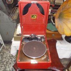 Gramófonos y gramolas: GRAMOLA RCA VICTROLA FUNCIONANDO. Lote 50217138