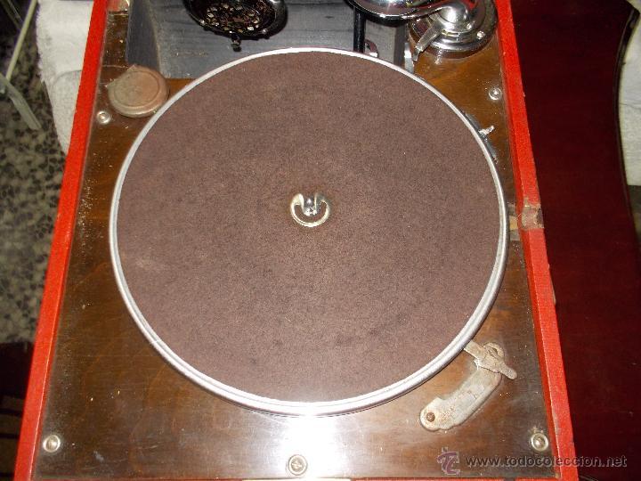 Gramófonos y gramolas: Gramola RCA Victrola Funcionando - Foto 15 - 50217138