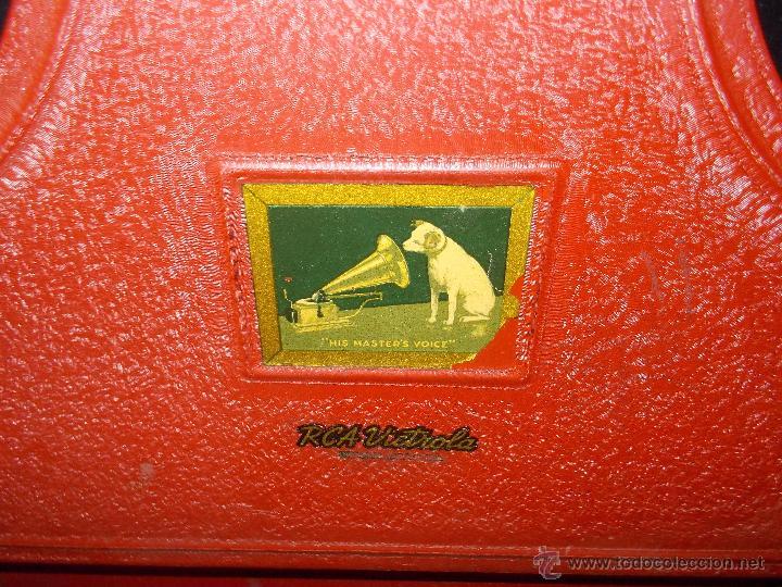 Gramófonos y gramolas: Gramola RCA Victrola Funcionando - Foto 17 - 50217138