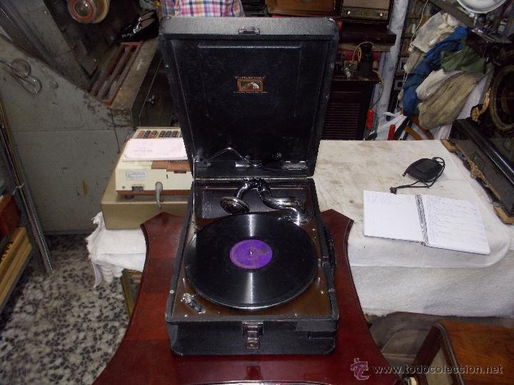 GRAMOLA HIS MASTER VOICE (Radios, Gramófonos, Grabadoras y Otros - Gramófonos y Gramolas)