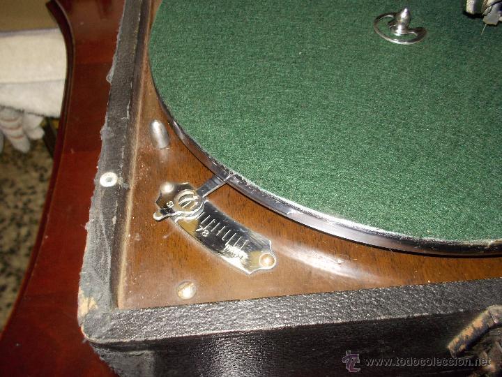 Gramófonos y gramolas: Gramola His master voice - Foto 2 - 50217314