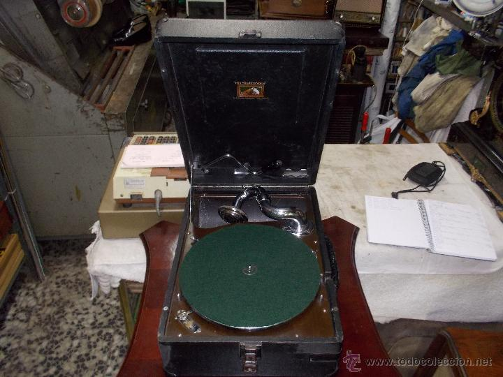 Gramófonos y gramolas: Gramola His master voice - Foto 14 - 50217314