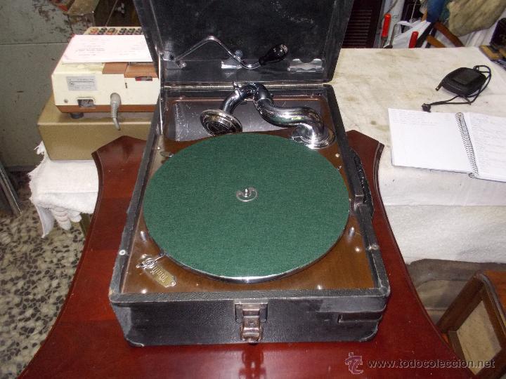 Gramófonos y gramolas: Gramola His master voice - Foto 20 - 50217314