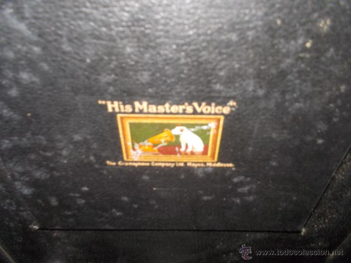 Gramófonos y gramolas: Gramola His master voice - Foto 22 - 50217314