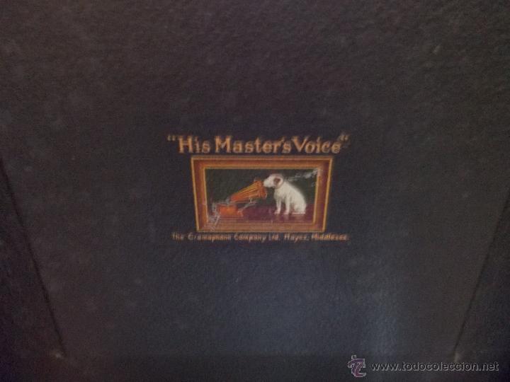 Gramófonos y gramolas: Gramola His master voice - Foto 23 - 50217314