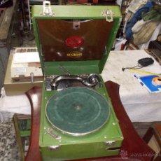 Gramófonos y gramolas: GRAMOLA GOLDRING FUNCIONANDO. Lote 50235375