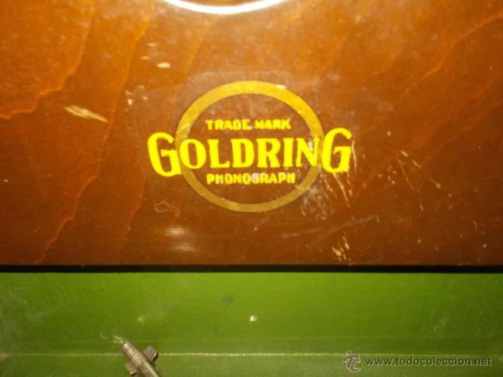 Gramófonos y gramolas: Gramola Goldring funcionando - Foto 10 - 50235375