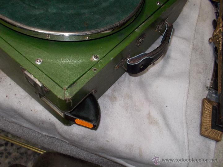 Gramófonos y gramolas: Gramola Goldring funcionando - Foto 21 - 50235375