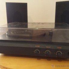 Gramófonos y gramolas: TOCADISCOS RETRO PORTATIL CON ALTAVOCES - ELECTROPHONE P1829, FUNCIONA PERFECTAMENTE.. Lote 51399796
