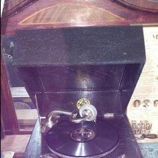 Gramófonos y gramolas: ANTIGUO GRAMOFONO ORIGINAL TH.CIEPLIK.. Lote 54206937