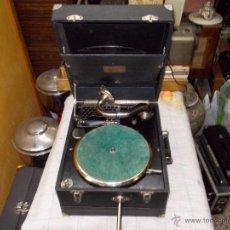 Gramófonos y gramolas: GRAMOLA LIMANIA FUNCIONANDO. Lote 54638268