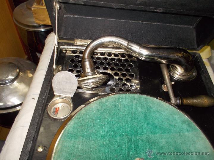 Gramófonos y gramolas: Gramola Limania Funcionando - Foto 8 - 54638268