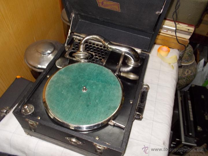 Gramófonos y gramolas: Gramola Limania Funcionando - Foto 9 - 54638268