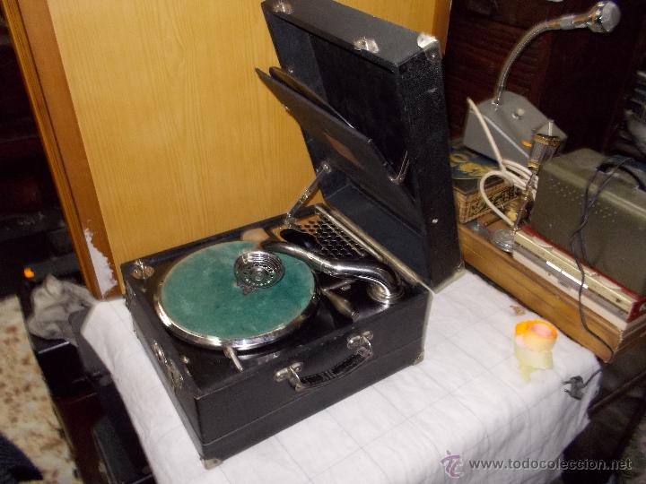 Gramófonos y gramolas: Gramola Limania Funcionando - Foto 10 - 54638268