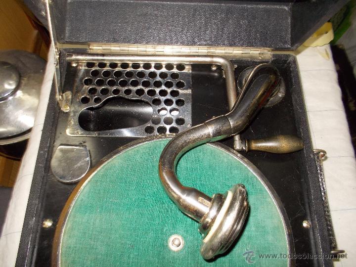 Gramófonos y gramolas: Gramola Limania Funcionando - Foto 11 - 54638268