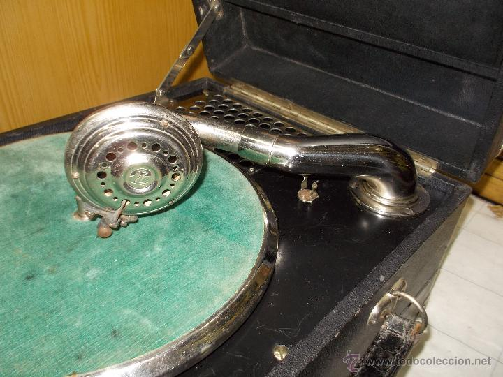 Gramófonos y gramolas: Gramola Limania Funcionando - Foto 13 - 54638268