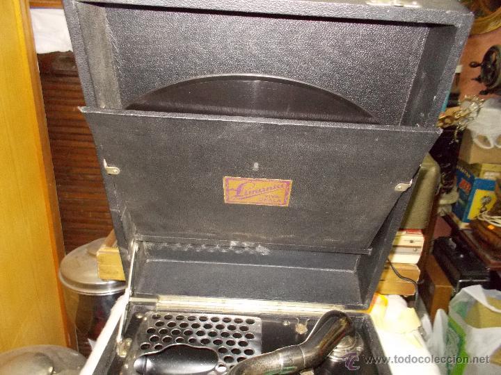 Gramófonos y gramolas: Gramola Limania Funcionando - Foto 15 - 54638268