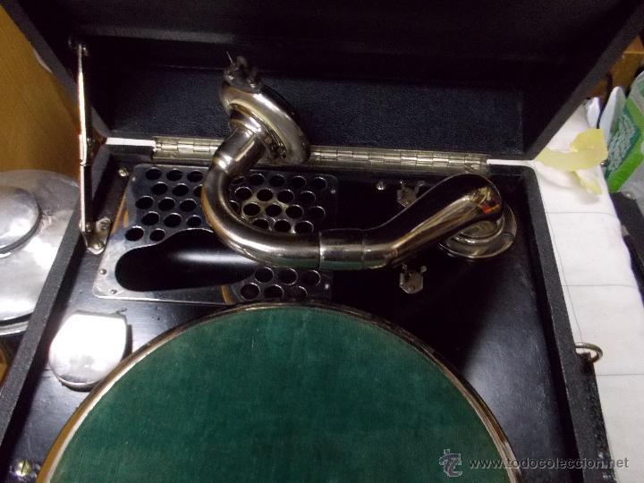 Gramófonos y gramolas: Gramola Limania Funcionando - Foto 17 - 54638268