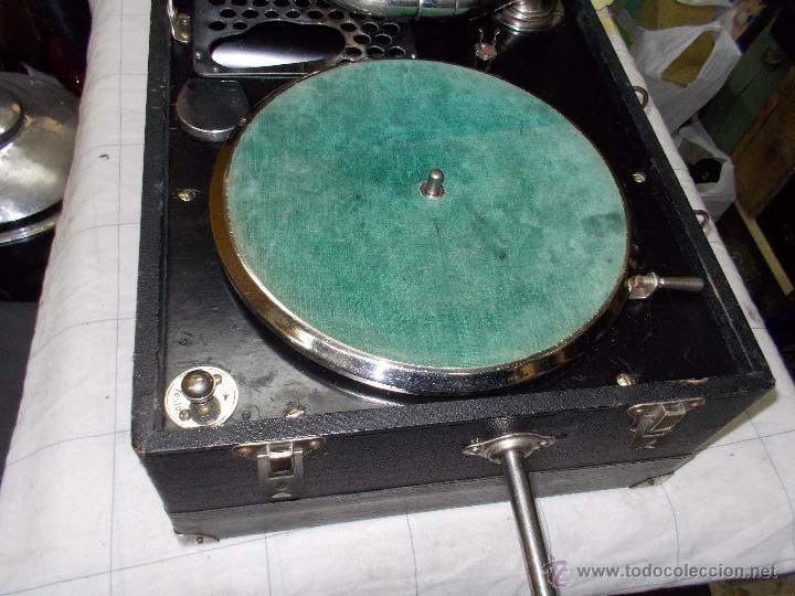 Gramófonos y gramolas: Gramola Limania Funcionando - Foto 18 - 54638268