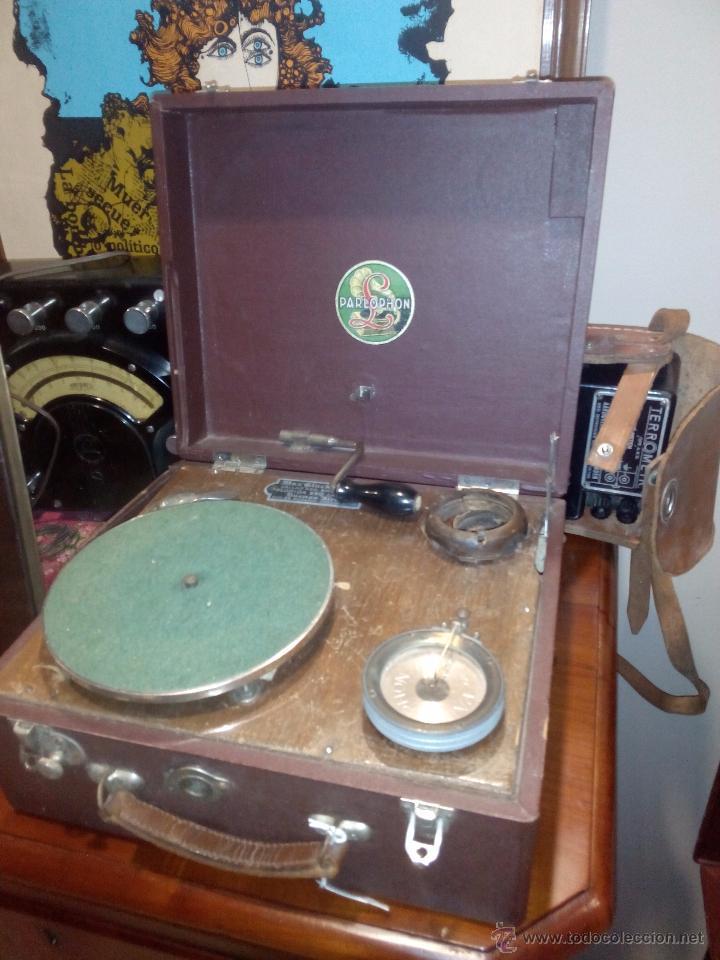 ANTIGUA Y RARA GRAMOLA (Radios, Gramófonos, Grabadoras y Otros - Gramófonos y Gramolas)