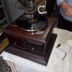 Gramófonos y gramolas: GRAMOFONO DE LA VOZ DE SU AMO. Lote 55911965