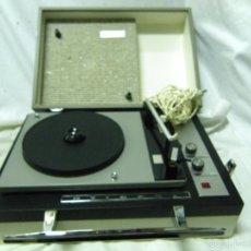 Gramófonos y gramolas: TOCADISCOS STIBERT DE LUXE AÑOS 60. Lote 56006997