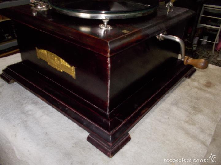 Gramófonos y gramolas: Gramofono Funcionando - Foto 2 - 56456129