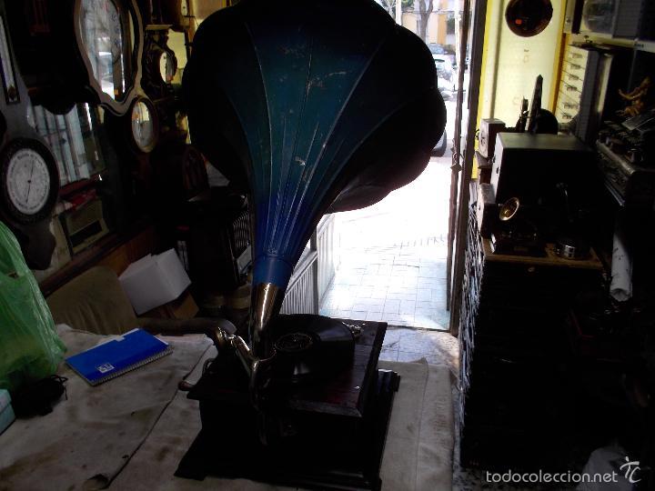 Gramófonos y gramolas: Gramofono Funcionando - Foto 7 - 56456129