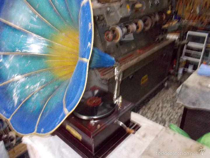 Gramófonos y gramolas: Gramofono Funcionando - Foto 8 - 56456129