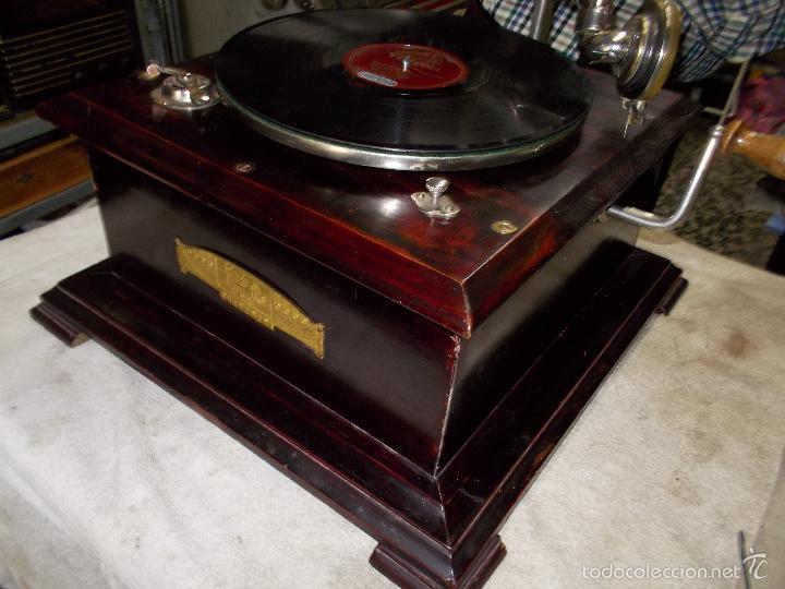 Gramófonos y gramolas: Gramofono Funcionando - Foto 11 - 56456129