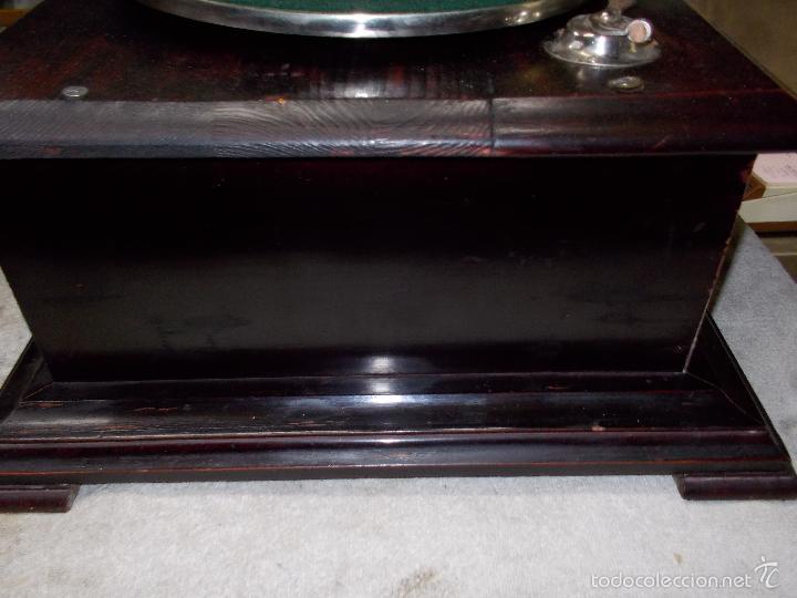 Gramófonos y gramolas: Gramofono Funcionando - Foto 25 - 56456129