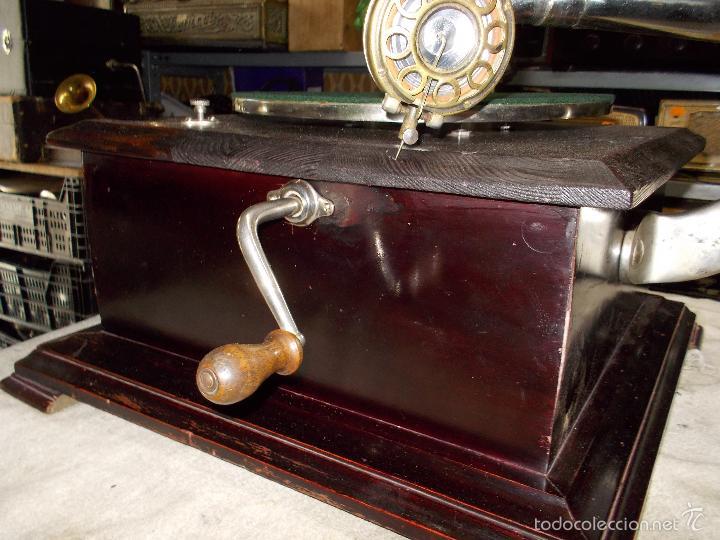 Gramófonos y gramolas: Gramofono Funcionando - Foto 27 - 56456129