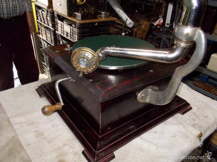 Gramófonos y gramolas: Gramofono Funcionando - Foto 29 - 56456129