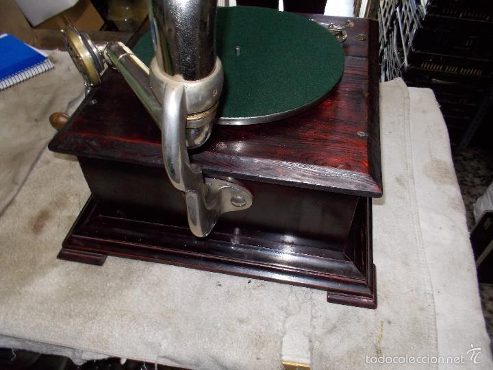 Gramófonos y gramolas: Gramofono Funcionando - Foto 30 - 56456129