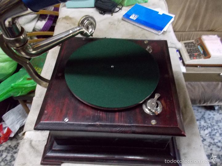 Gramófonos y gramolas: Gramofono Funcionando - Foto 31 - 56456129