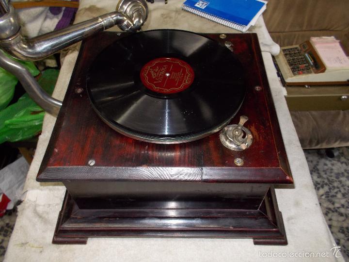 Gramófonos y gramolas: Gramofono Funcionando - Foto 32 - 56456129