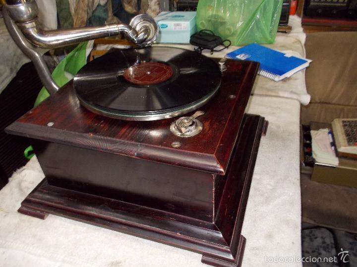 Gramófonos y gramolas: Gramofono Funcionando - Foto 33 - 56456129