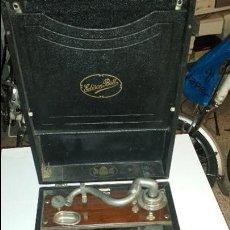 Gramófonos y gramolas: CAJA GRAMOLA ELECTRON. Lote 56526280