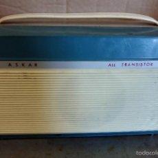 Gramófonos y gramolas: TRANSISTOR ASKAR ALL TRANSISTOR. Lote 56618256