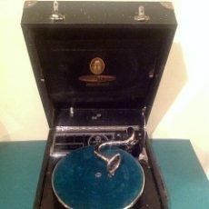 Gramófonos y gramolas: GRAMOLA GRAMOFÓNO MADE IN GERMANY ORATOR – RESTAURAR MONTAR. Lote 57019072