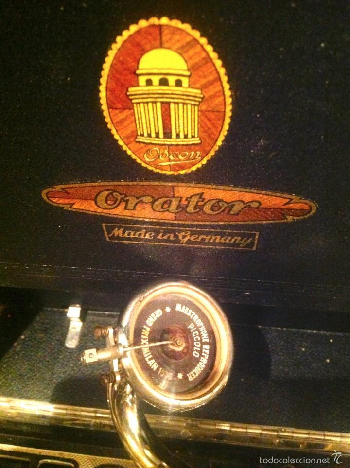 Gramófonos y gramolas: Gramola Gramofóno Made In Germany Orator – Restaurar Montar - Foto 3 - 57019072